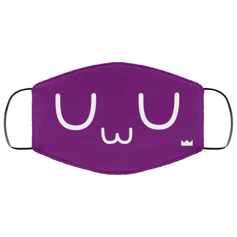 uWu (Royal) Face Mask