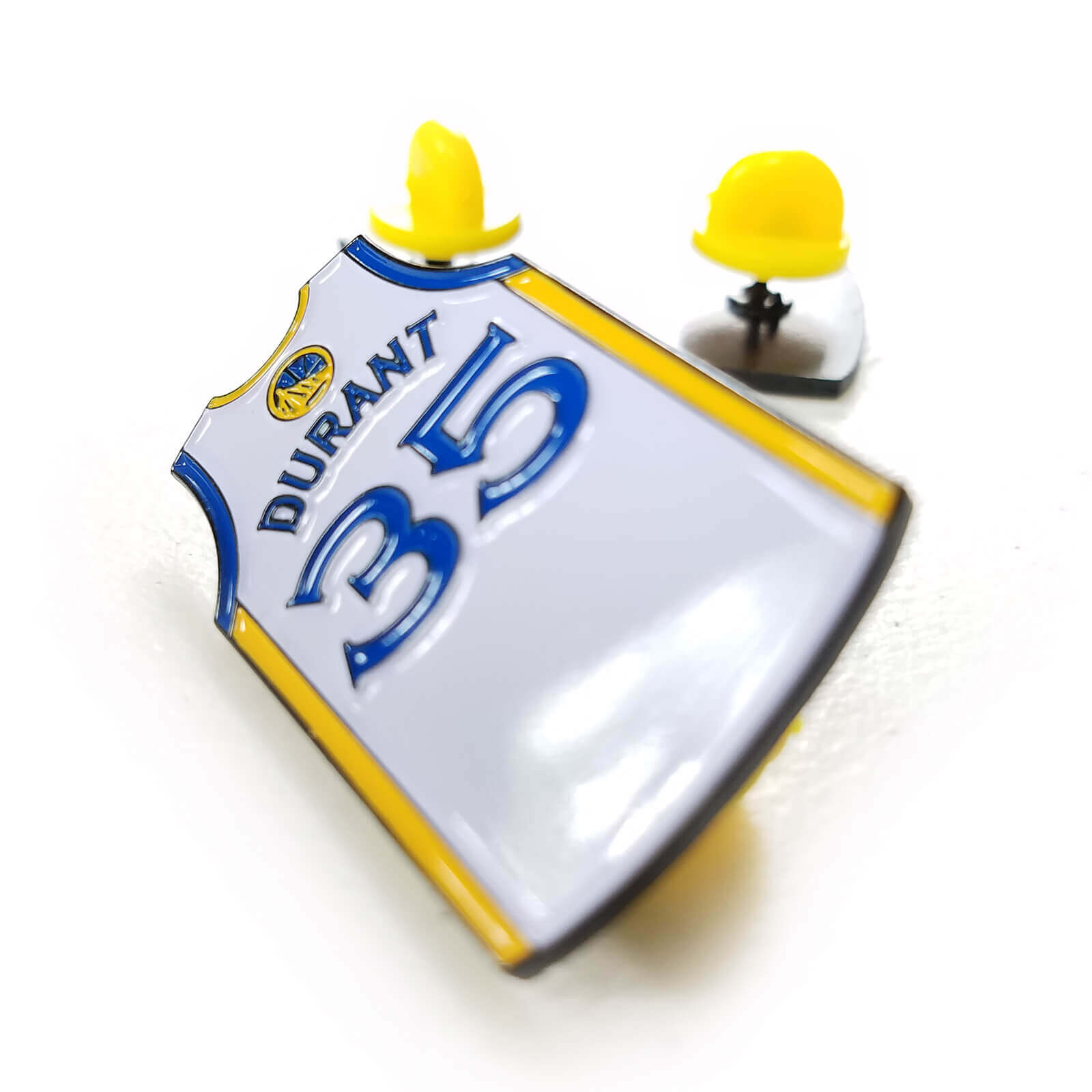 Kevin Durant Golden State Warriors Jersey Enamel Pin