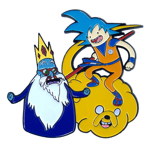 Adventure Time Z 'Ice' (2 Pin) Pin Pack