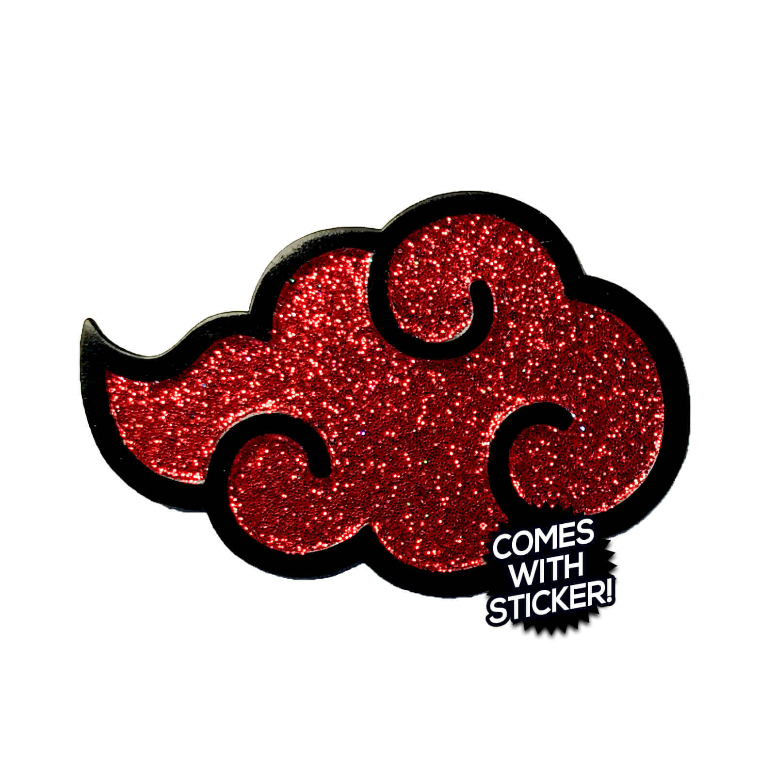 Akatsuki Cloud (Red) Enamel Pin