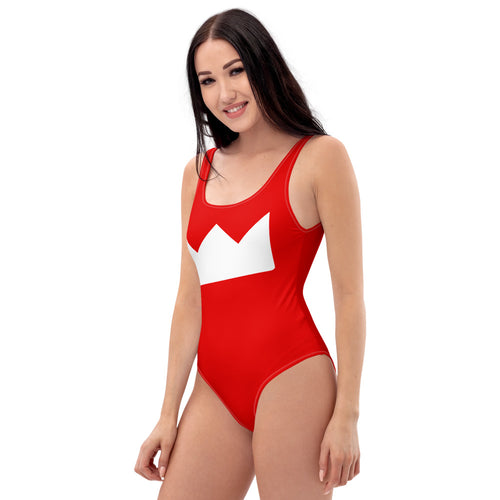 KOTP Big Crown (Red) One-Piece Swimsuit