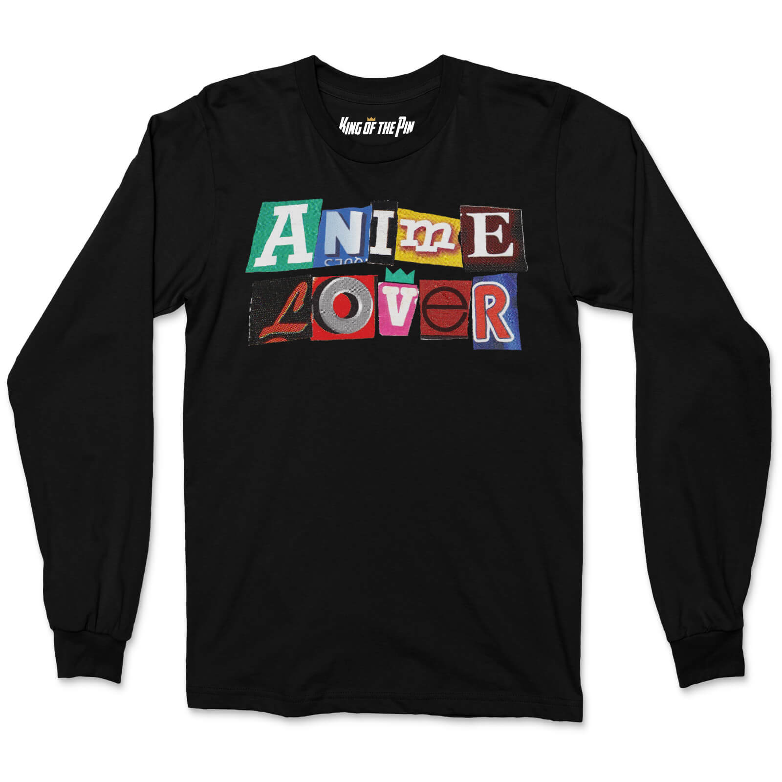 Anime Lover (Black) L/S Shirt