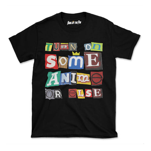Anime Ransom Note T-Shirt