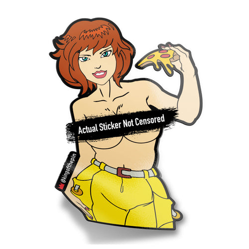April 'O Neil (TMNT) After Hours Sticker (PREORDER)