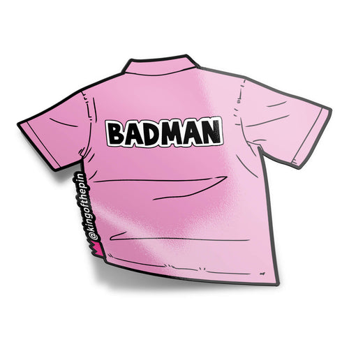Badman Vegeta Cosplay Tee Sticker
