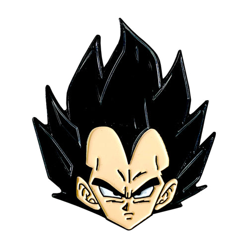 Badman Vegeta Head Enamel Pin