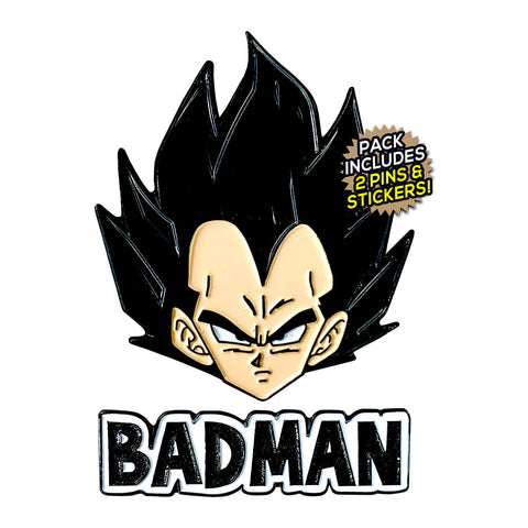 Vegeta (Shirtless Hero) Enamel Pin