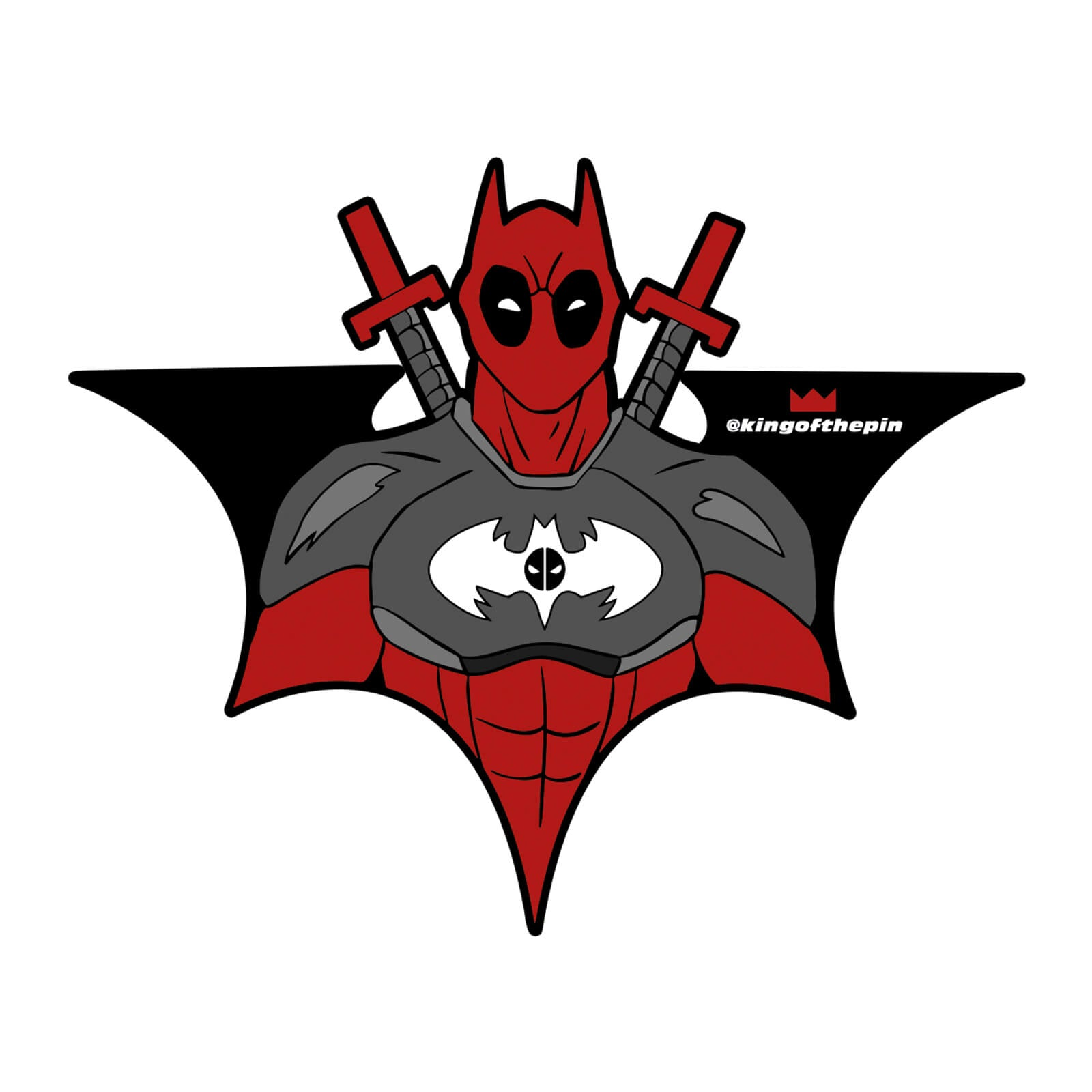 Batpool Sticker