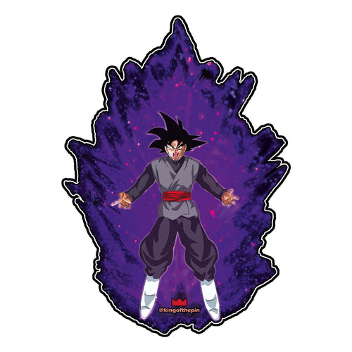 Goku Black Power Up Sticker