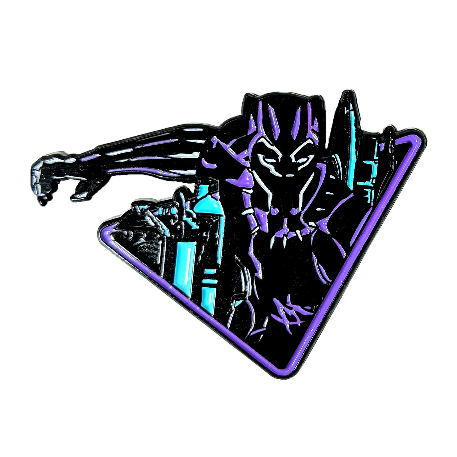 "Black Panther ""OG"" Variant Enamel Pin"