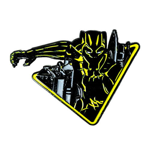 "Black Panther ""Killmonger"" Variant Enamel Pin"