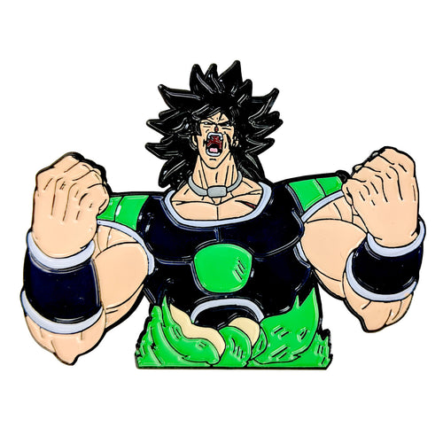 Broly (DBS Broly Movie) Enamel Pin