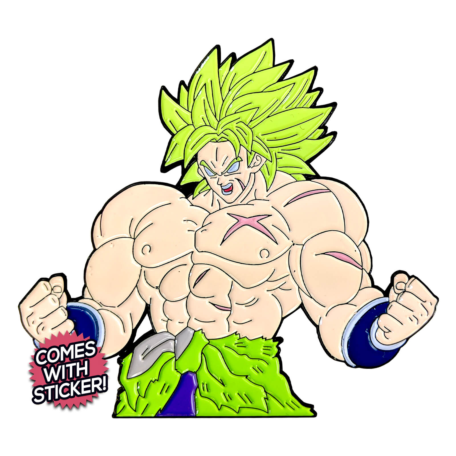 Broly Super Saiyan (DBS Broly Movie) Enamel Pin