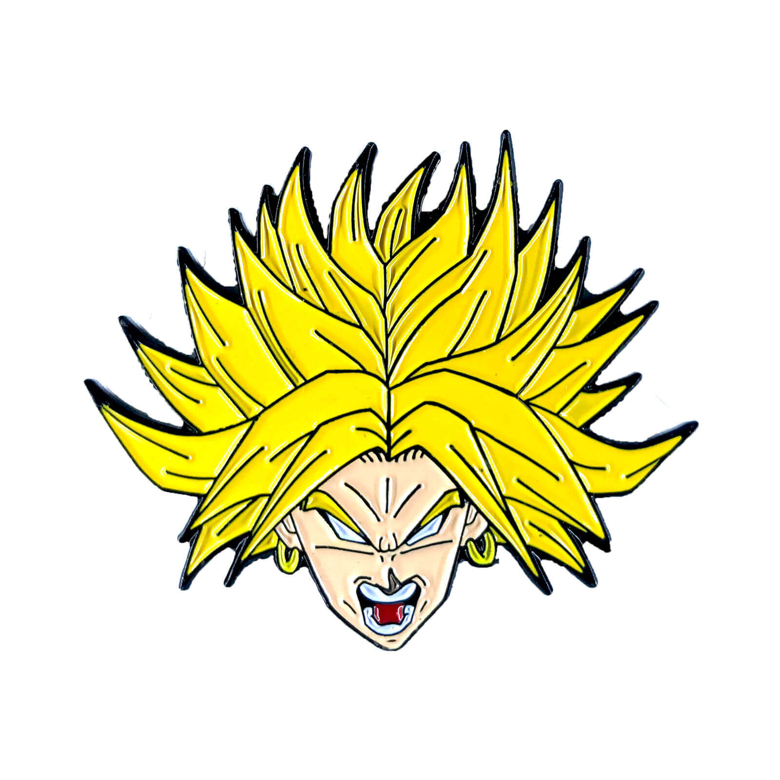 Broly Legendary Super Saiyan Enamel Pin