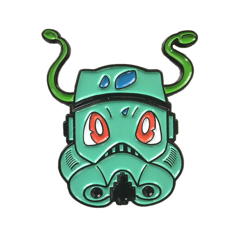 Brock PokeMask Enamel Pin