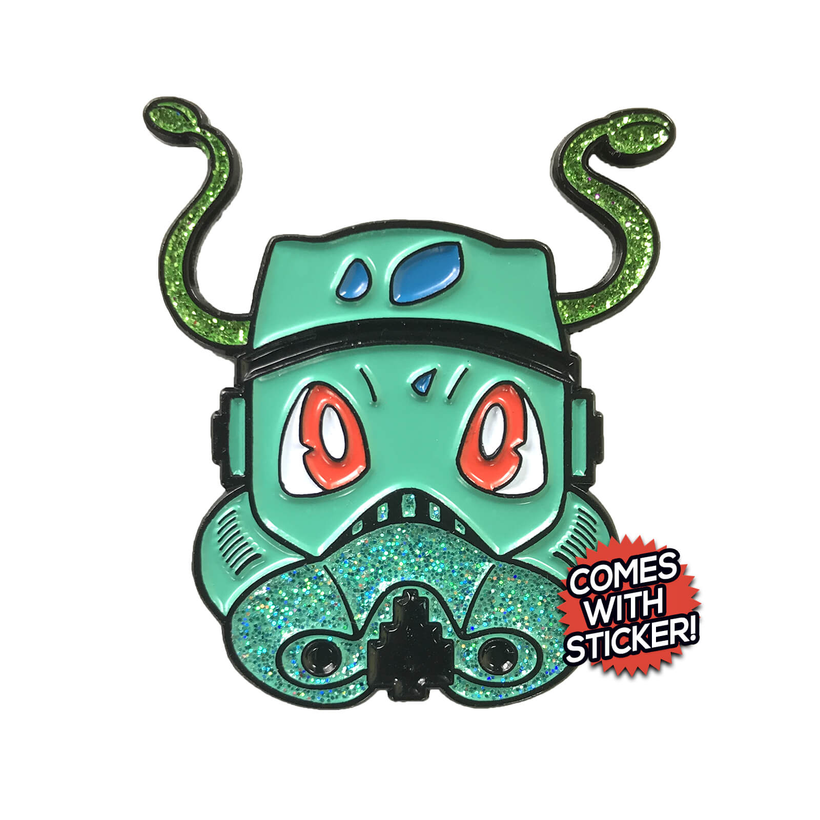 Bulbasaur PokeTrooper Enamel Pin