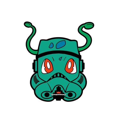 Bulbasaur PokeTrooper Sticker