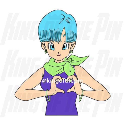 Bulma - Do You Love Me? Enamel Pin