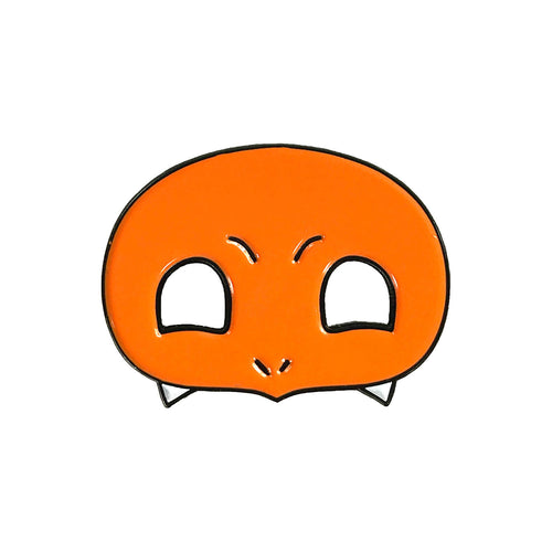 Charmander PokeMask Enamel Pin