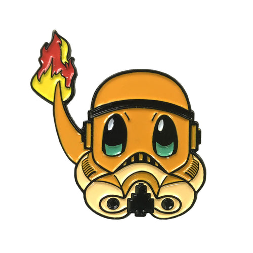 Charmander PokeTrooper Enamel Pin