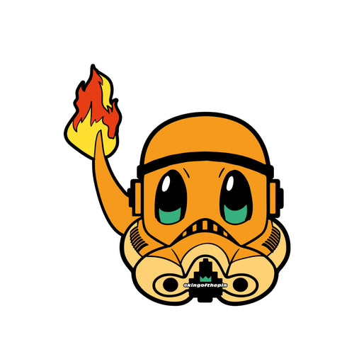 Charmander PokeTrooper Sticker