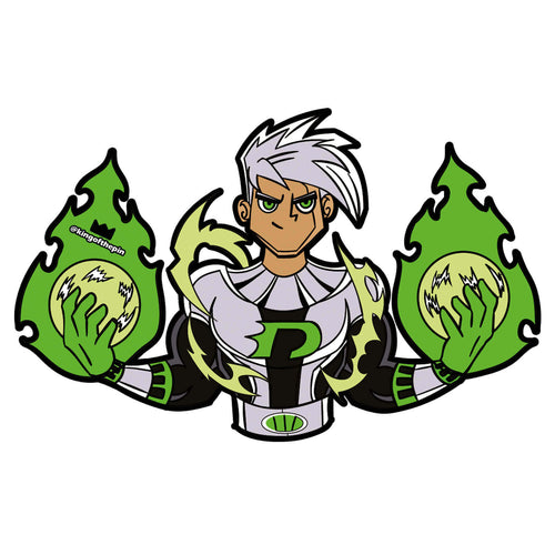 Danny Phantom Sticker