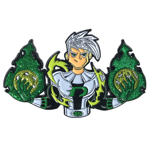 Danny Phantom Enamel Pin