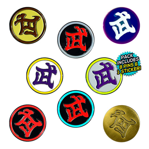 DB World Tournament Logo (8 Pin) Pin Pack