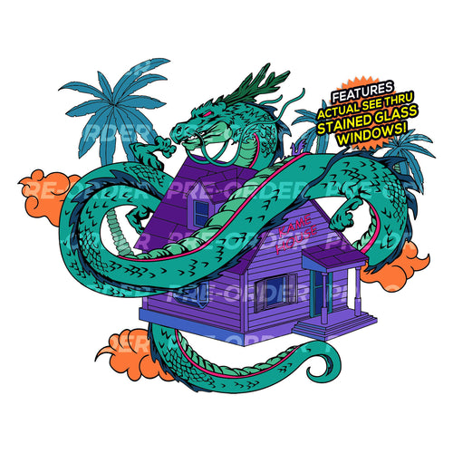Divine Kame House [Infrared Nights] Enamel Pin (PREORDER)