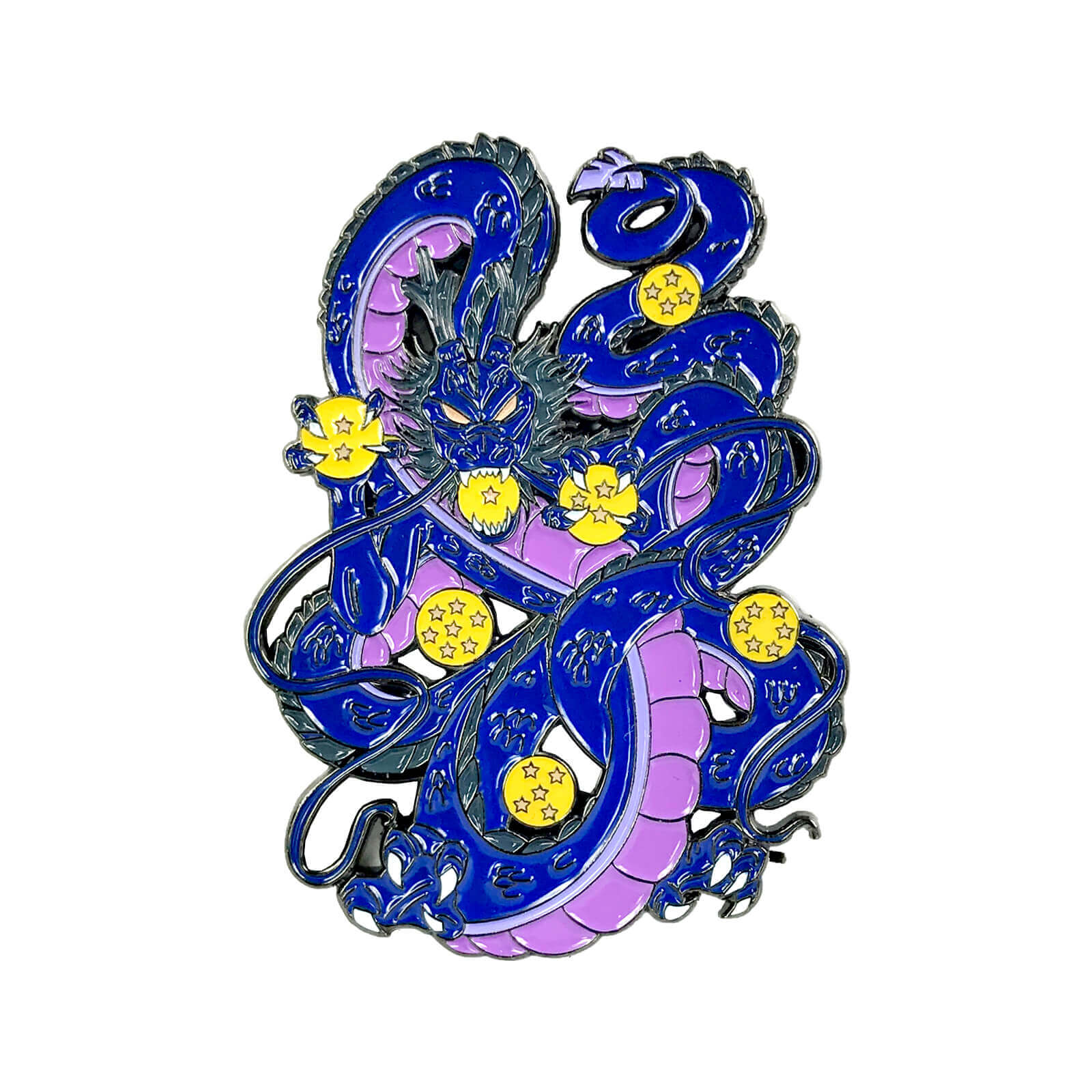 Eternal Dragon (v3 Black Smoke) Enamel Pin