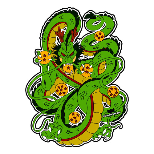 Eternal Dragon Sticker