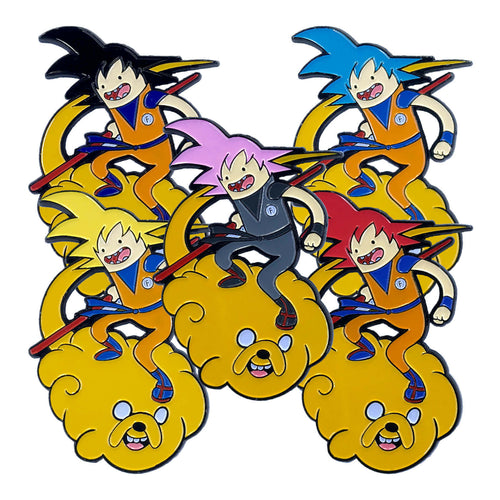 Finku 'Adventure Time Z' Full (5 Pin) Set