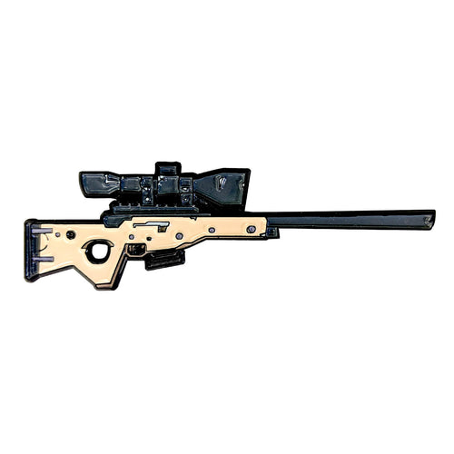 Fortnite Bolt-Action Sniper Rifle Enamel Pin
