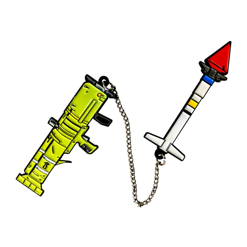 Fortnite Guided Missle Enamel Pin