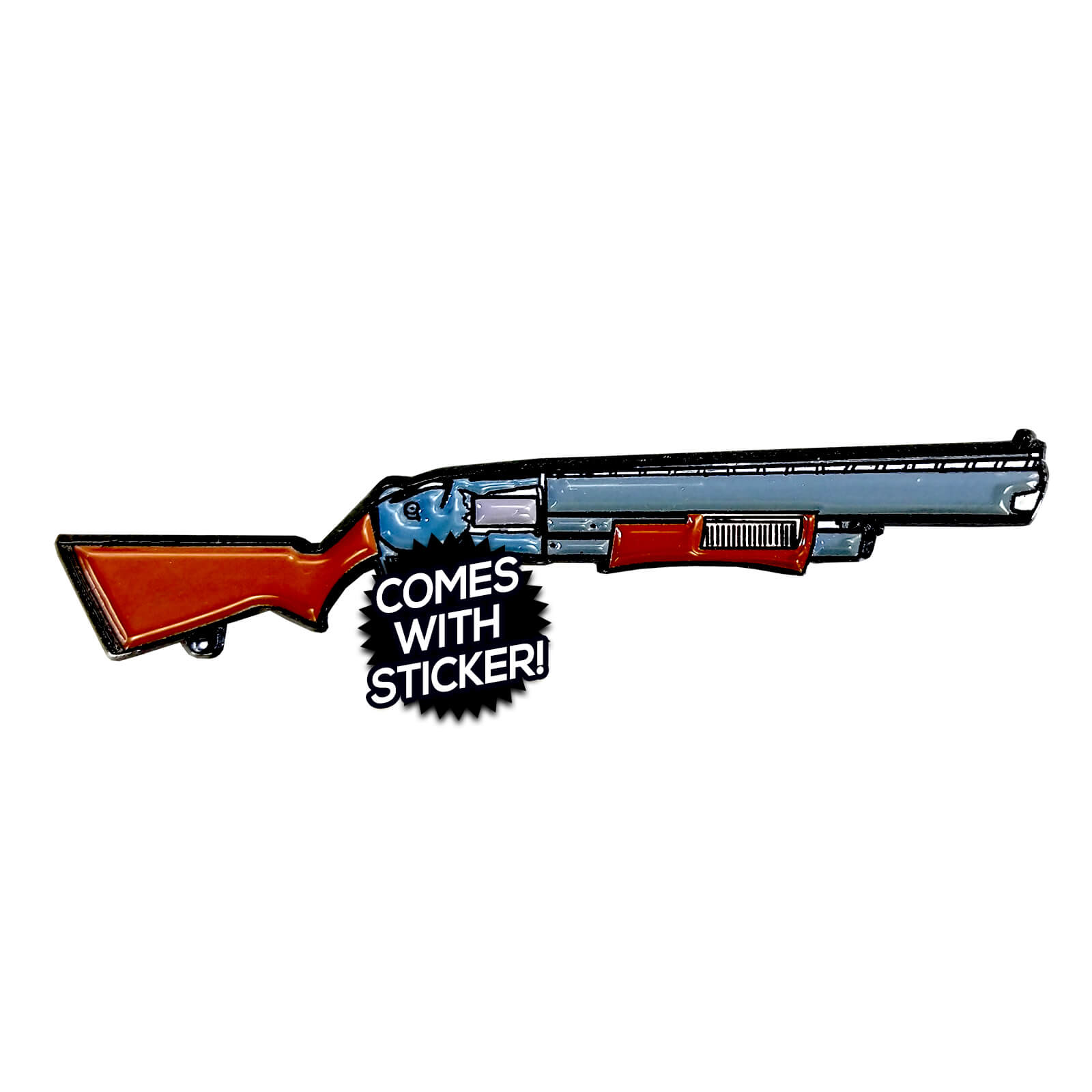 Fortnite Pump Shotgun Enamel Pin