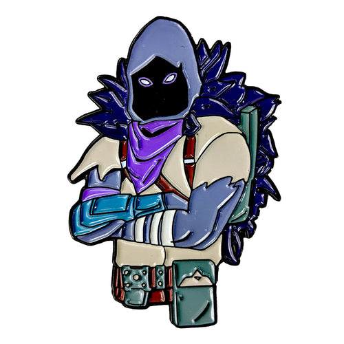 Fortnite Raven Skin Enamel Pin