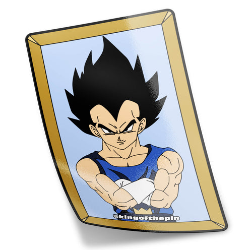 Framed Vegeta Photo Sticker