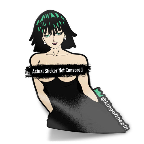 Fubuki (One Punch Man) After Hours Sticker