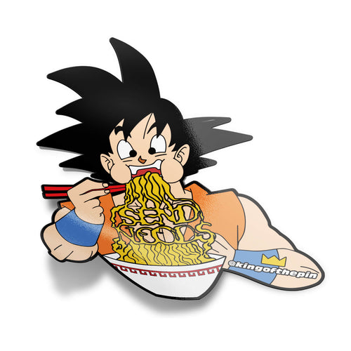 Goku Send Noods Sticker