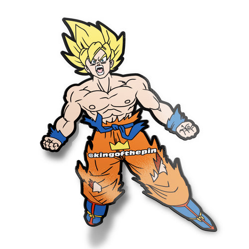 Goku (Shirtless Hero) Sticker