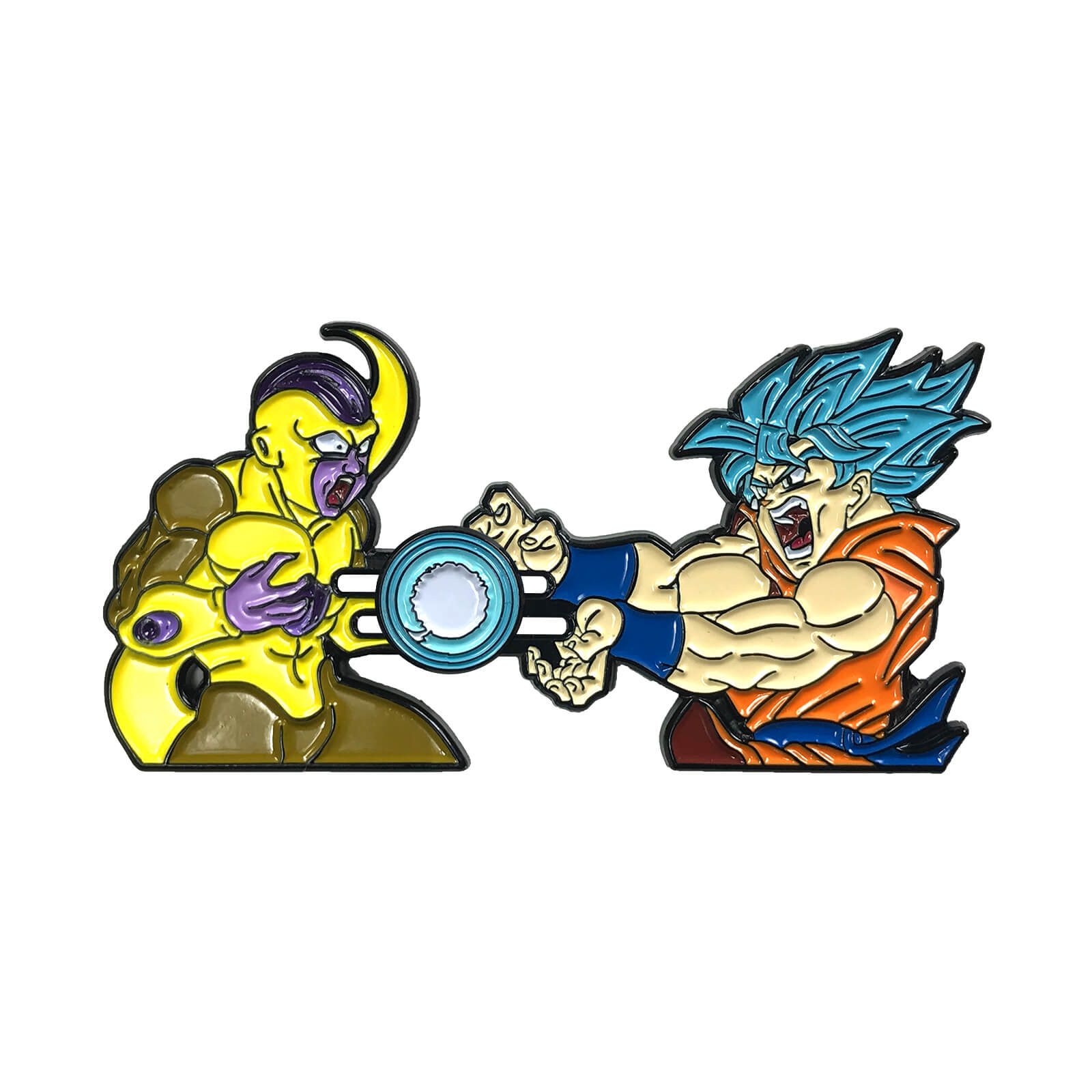 Goku vs Frieza Sliding Enamel Pin (2nd Ed.)