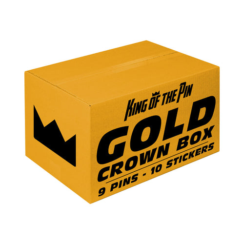 Gold (9 Pin) Crown Box