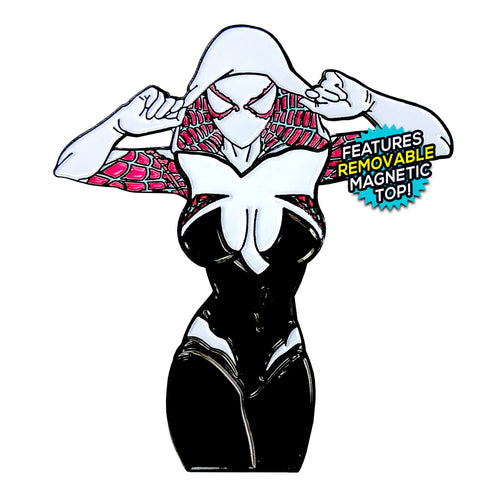 Spider-Gwen [Gwen Stacy] (Spiderman) After Hours Enamel Pin