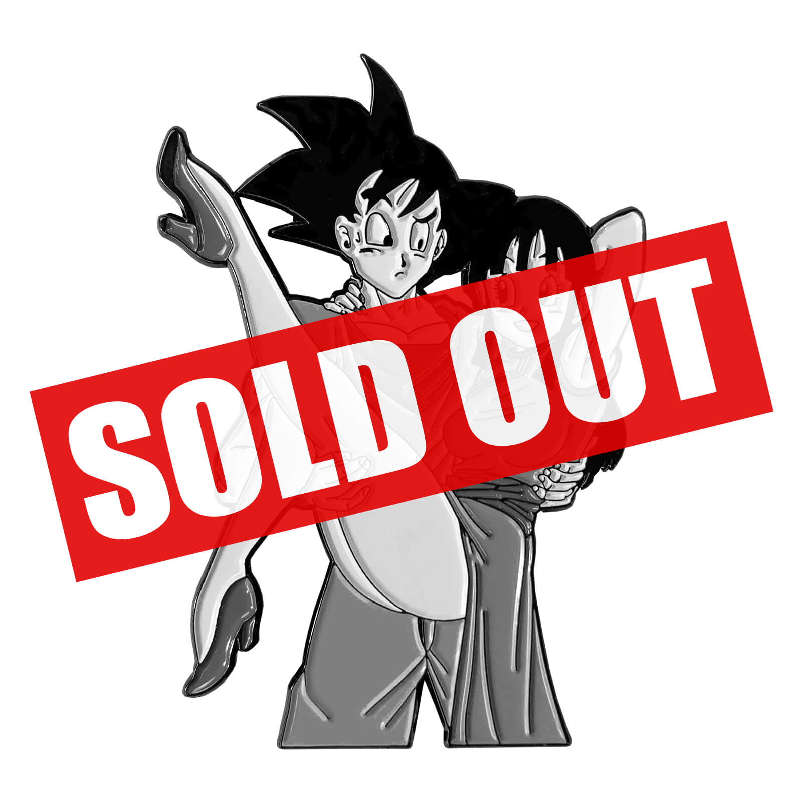 Hold Me, Goku Enamel Pin