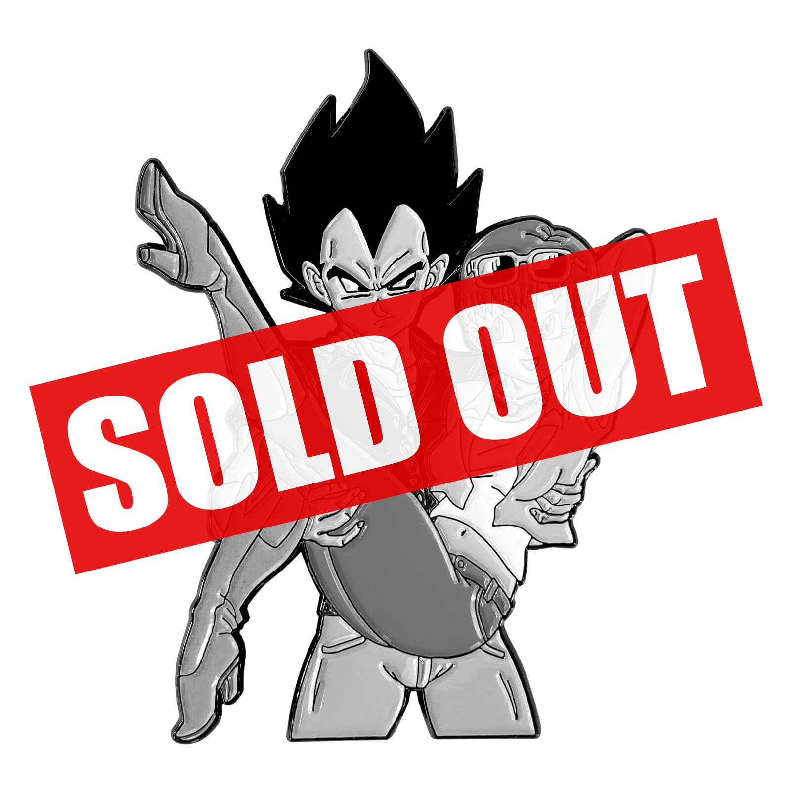 Hold Me, Vegeta Enamel Pin