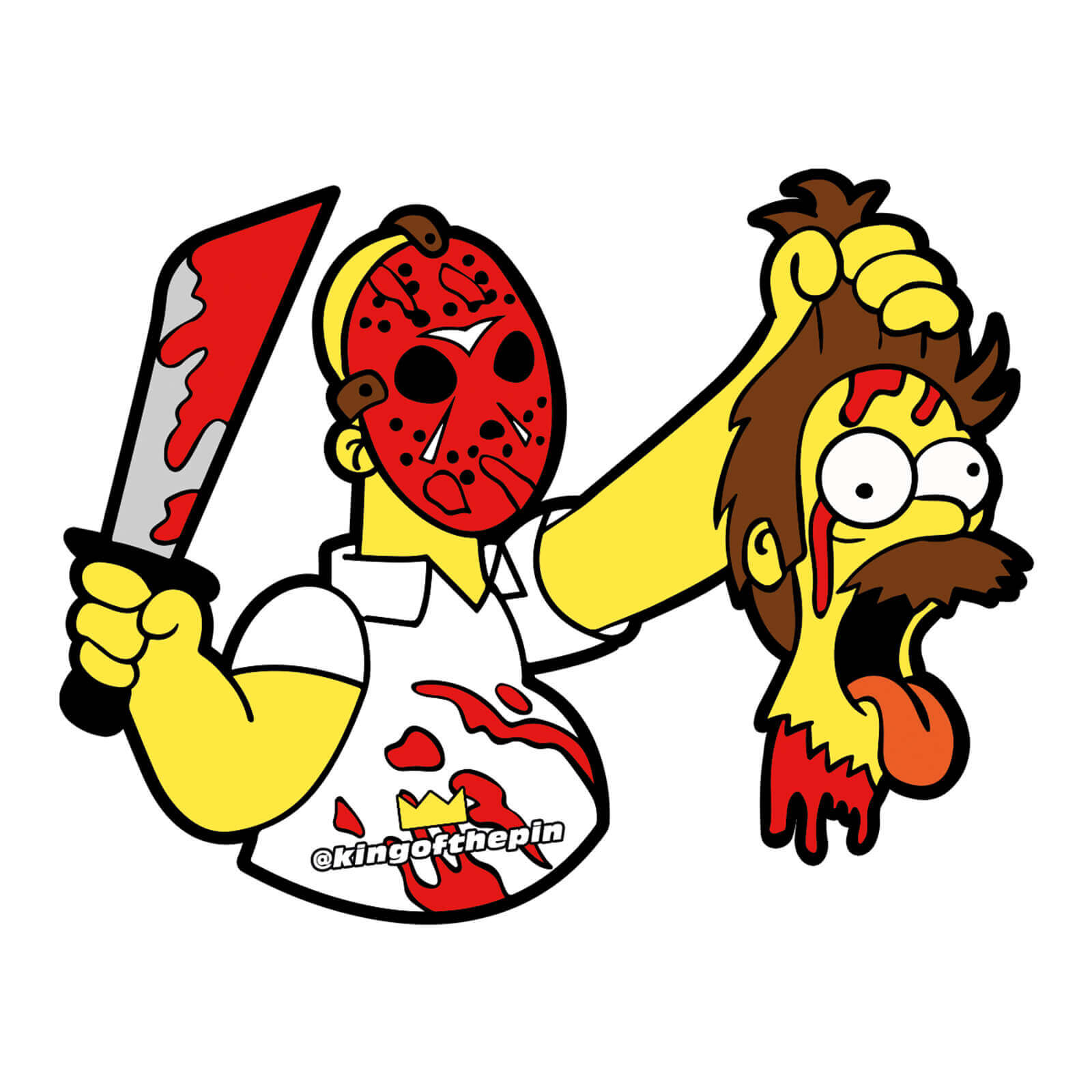 Homer Voorhees Sticker