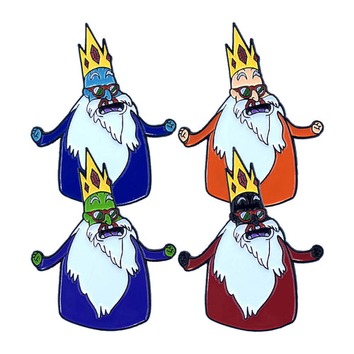 Ice King Roshi 'Adventure Time Z' Full (4 Pin) Set