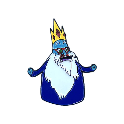 Ice King Roshi 'Adventure Time Z' Enamel Pin