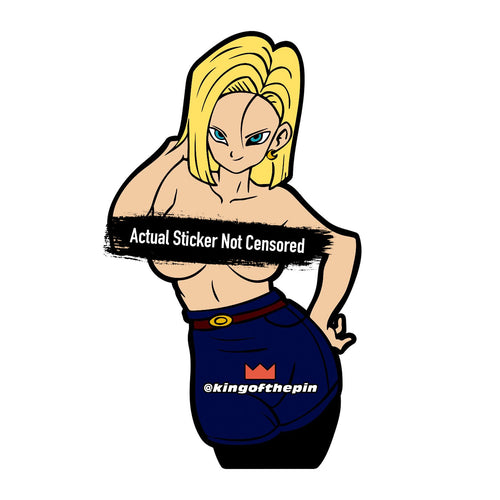 Android 18 (Dragon Ball) After Hours Sticker