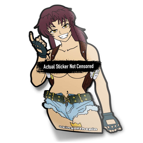 Revy (Black Lagoon) After Hours Sticker